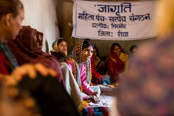 The Hunger Project NZ elected women representatives in India